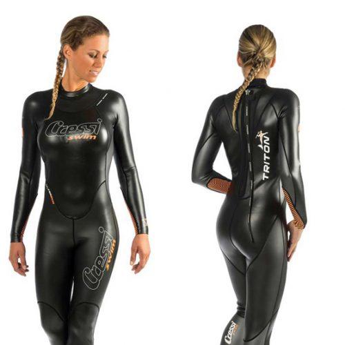 Cressi Schwimmanzug TRITON Schwimmbrille SKYLIGHT
