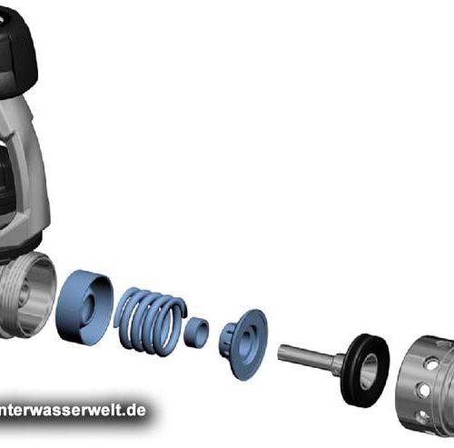 Scubapro Atemregler A700 – MK25 EVO BT